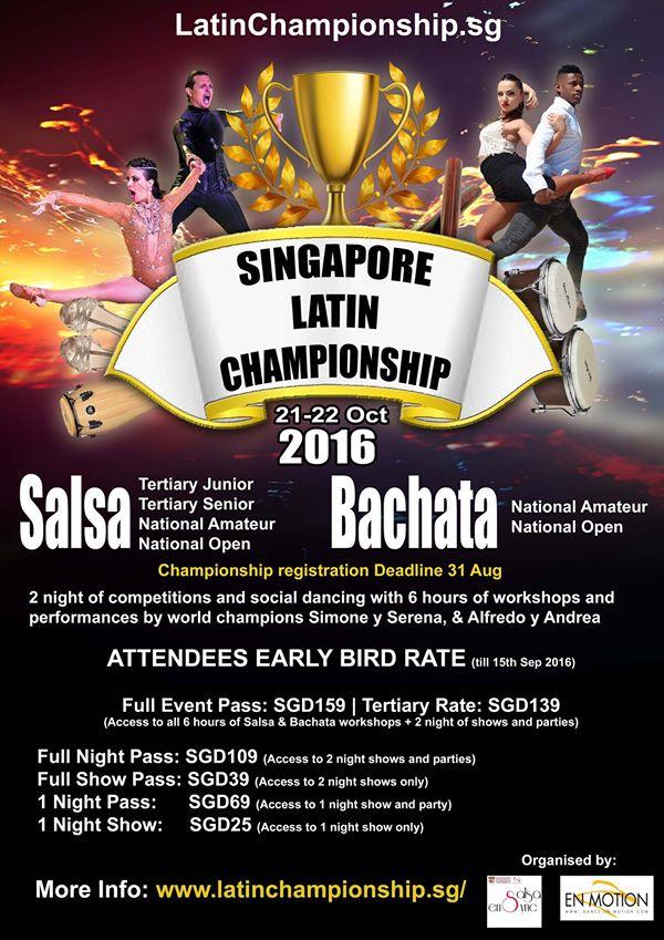 1st Singapore Latin Championship