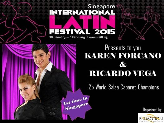 Singapore lnternational Latin Festival 2015