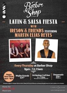 Barber Shop by Timbre Latin & Salsa Fiesta @ Barber Shop by Timbre | Singapore | Singapore
