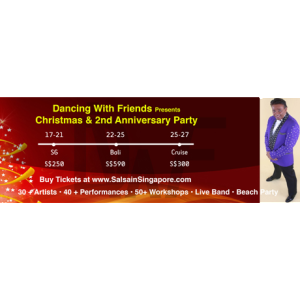 Dancing With Friends Christmas and 2nd Anniversary party @ Suntec Convention Centre  and Azzura Beach, Siloso Beach | Singapore | Singapore