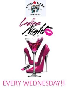 Latina Ladies Night @ Cuba Libre Cafe & Bar | Singapore | Singapore