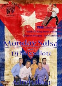 Free Salsa Lessons/ Monday Salsa Social @ Cuba Libre Cafe & Bar | Singapore | Singapore