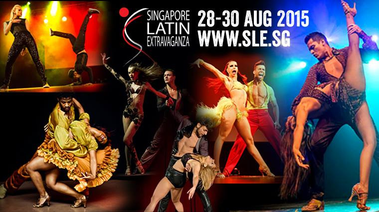 Singapore Latin Extravaganza(SLE) 28-30 Aug 2015