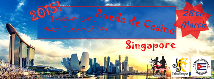 Singapore Rueda Flashmob Day