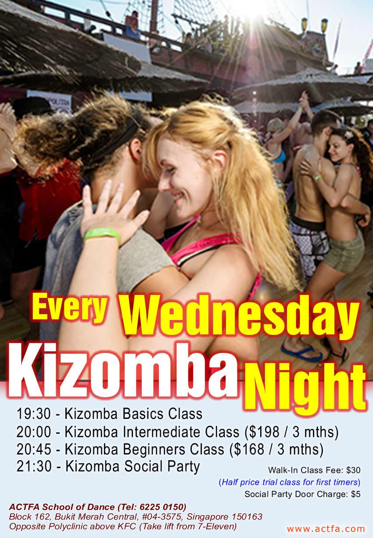 ACTFA Wed Kizomba Night
