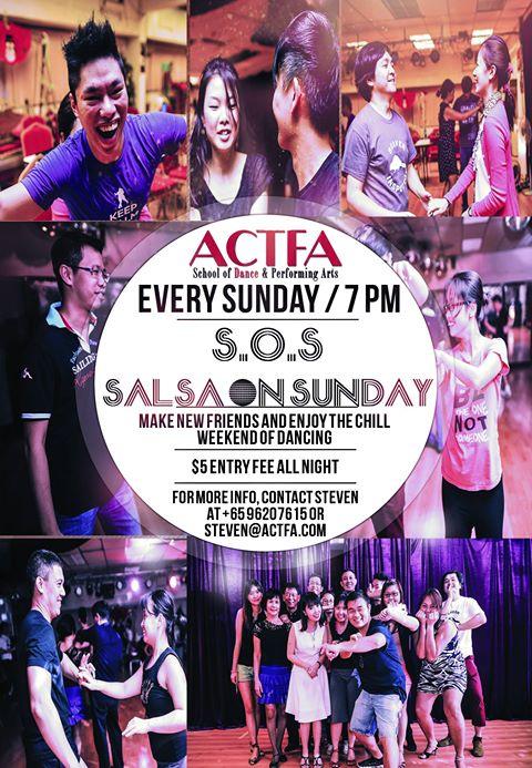 ACTFA Salsa On Sundays (S.O.S)