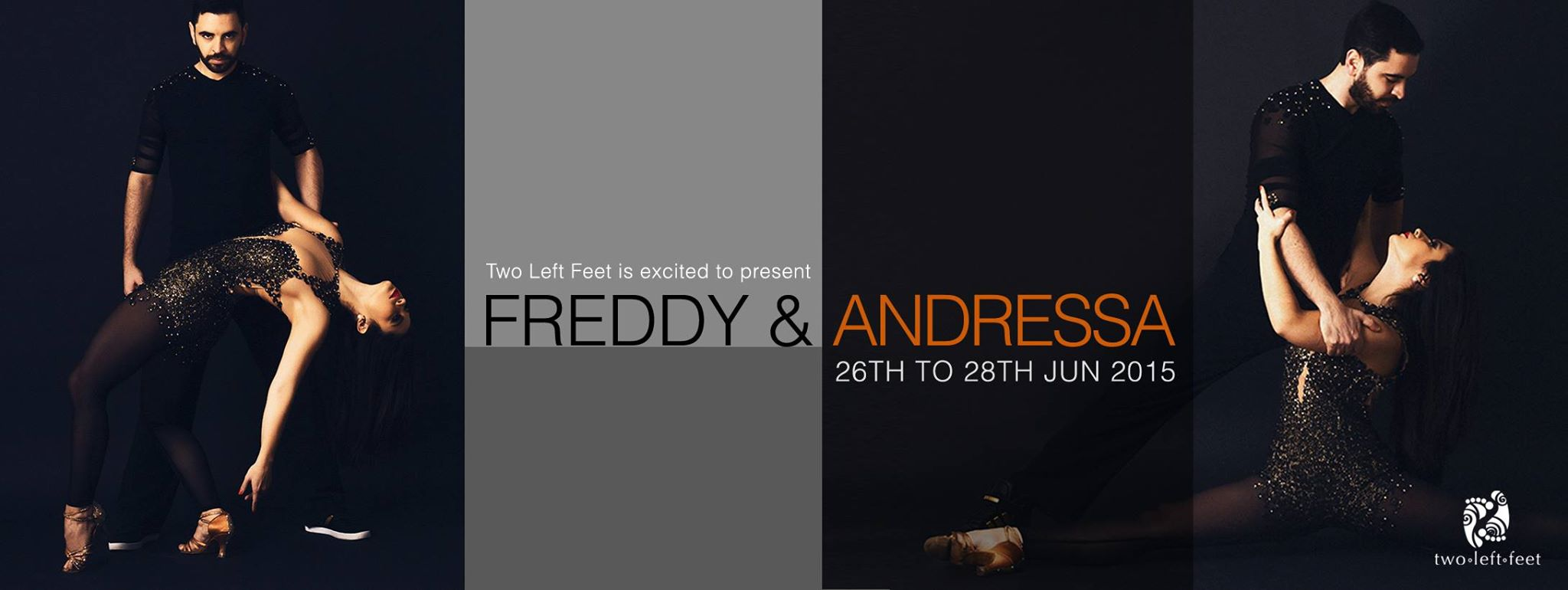 """ZoukRUSH presents """"Freddy & Andressa"""" in Singapore!"""