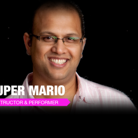 Workshops  by Super Mario(Million Moves Man!)  @ JJSalsaRengue