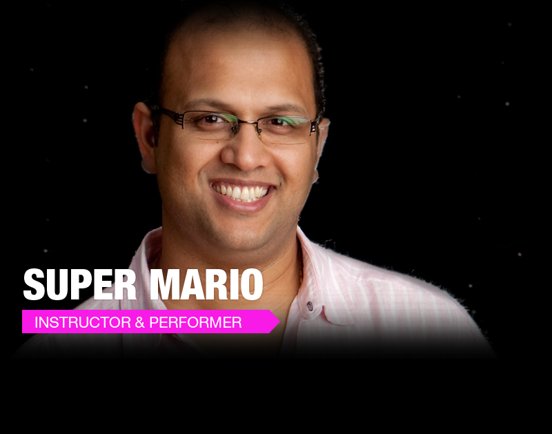 Workshops  by Super Mario(Million Moves Man!)  @ JJSalsaRengue