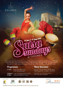 SALSA SUNDAYS at CHIJMES! @ CHIJMES - 30 Victoria Street, Sin187996