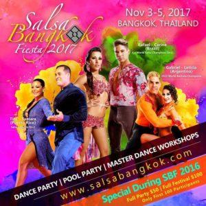 Salsa Bangkok Fiesta 2017 @ Windsor Suites Hotel  Sukhumvit Rd Khlong Toei - 10110 - Bangkok - Thailand