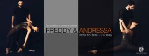 "ZoukRUSH presents ""Freddy & Andressa"" in Singapore! @ Two Left Feet 5B Trengganu St (3rd floor) Singapore 058459 | Singapore | Singapore"
