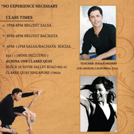 Salsa and Bachata Workshop with ISAIAH MEDERS & Rashida