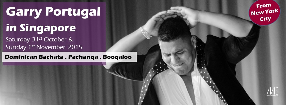 Dominican Bachata / Pachanga / Boogaloo Workshops with Garry Portugal from NYC