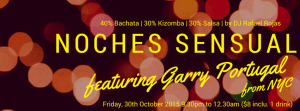 Noches Sensual Party!!! @ Mosaic Dance Studio @ Blk 261 Waterloo Centre, #01-22 (S)180261 | Singapore | Singapore