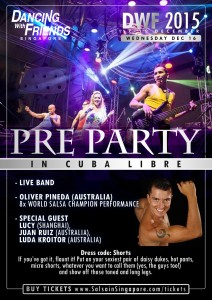 Pre-Party DWF 2016 @ Cuba Libre Block B #01-13 Clarke Quay,  River Valley Road, S'pore 179021 | Singapore | Singapore