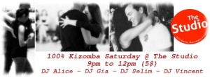 Kizomba Saturday @ The Studio 1 review · Dance Class 112 Middle Rd 9005 6192 | Singapore | Singapore