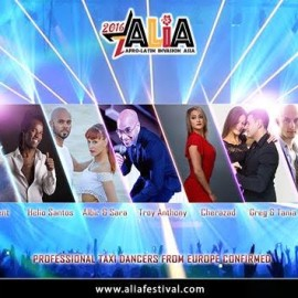 ALIA: AFRO-LATIN INVASION ASIA – 27-31st July 2016