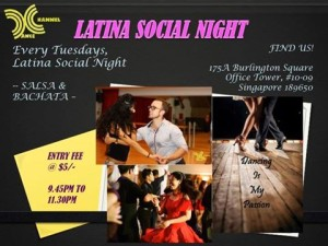 Latina Social Night. @ #10-09 175A burlington square office tower | Singapore | Singapore