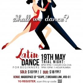 Latin Dance Trial Night
