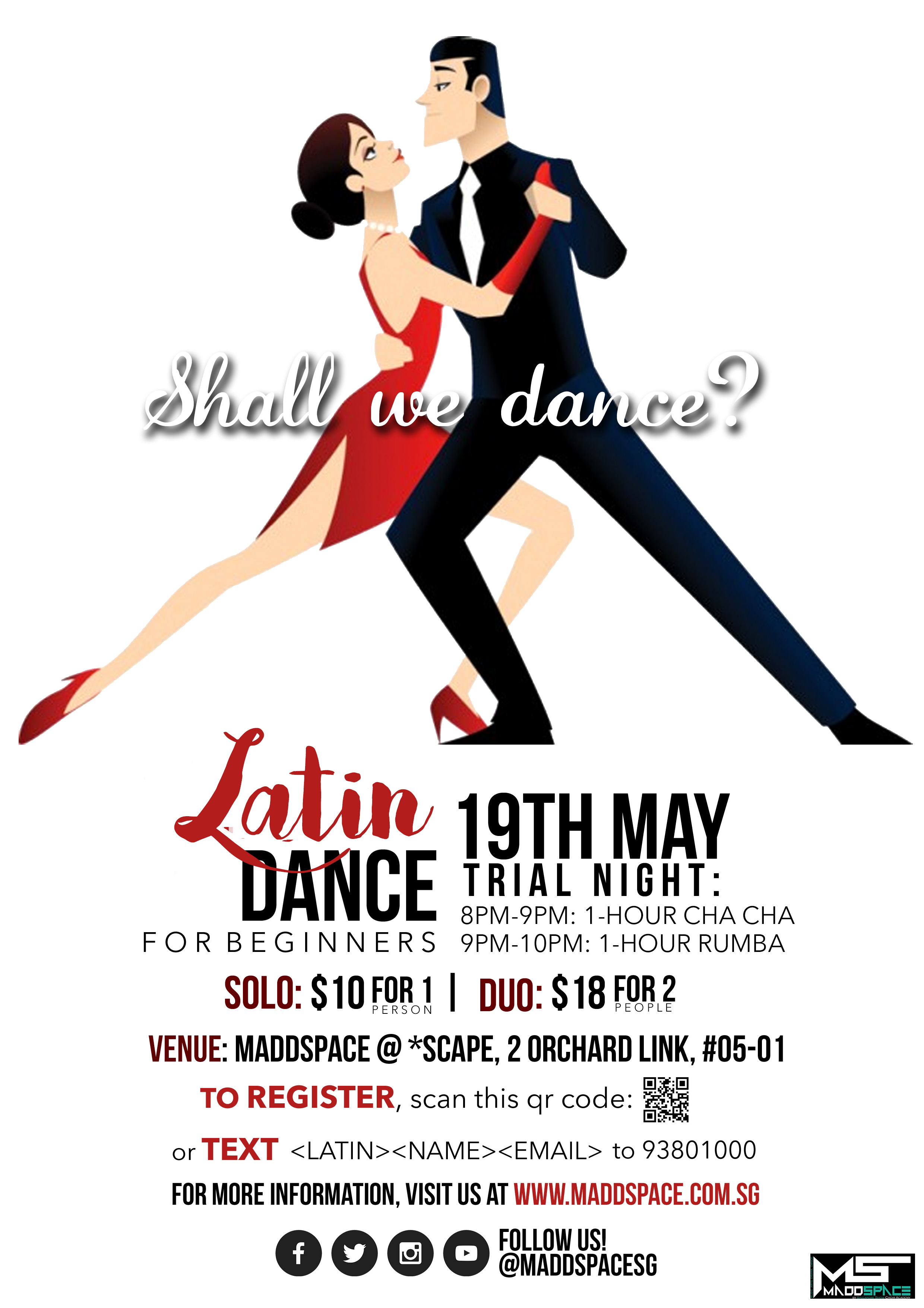 Latin Dance Trial Night