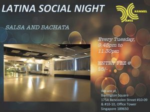 Latin Social Night @ DANCE CHANNEL @ 175A BENCOOLEN STREET (NEXT TO SIM LIM SQUARE) | Singapore | Singapore