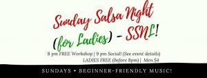 Sunday Salsa Night (For Ladies) - SSNL! @ DANCE CHANNEL @ 175A BENCOOLEN STREET (NEXT TO SIM LIM SQUARE) | Singapore | Singapore
