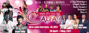 ALFA : Afro-Latin Fest Asia - KL 2017 @ pin Hide Map KLDA (Kuala Lumpur Dancers' Association) | Kuala Lumpur | Federal Territory of Kuala Lumpur | Malaysia