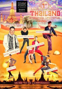 Thailand International Latin Festival 2017 @ Four Points by Sheraton Bangkok, Sukhumvit 15 | Krung Thep Maha Nakhon | Thailand