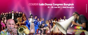 Colors of Latin Dance (COLADA) 2017 -- Latin Dance Congress @ Shangri-La Hotel, Bangkok | Bangkok | Thailand