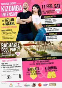 Valentine BachaKiz Pool Party at Hotel Jen @ pin Hide Map Hotel Jen Orchardgateway Singapore 277 Orchard Road #10-01, Singapore 238858 | Singapore | 0